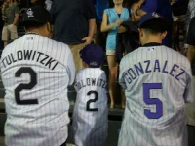 Coors Field section 402