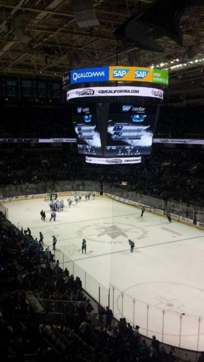 SAP Center at San Jose, section: 225, row: 3, seat: 7