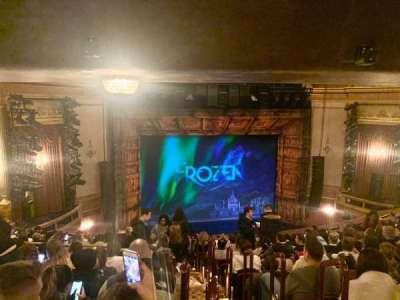 St. James Theatre, section: Mezzanine L, row: P, seat: 3