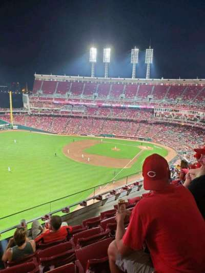 Great American Ball Park section 510