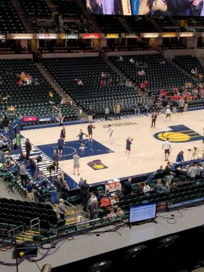 Bankers Life Fieldhouse section 106