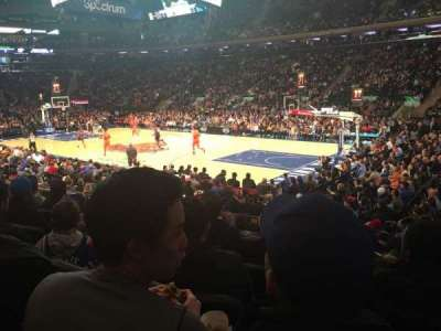 Madison Square Garden section 109