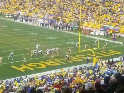 Heinz Field, section: 219, row: O, seat: 26