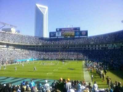 Bank of America Stadium, section: 139, row: 17, seat: 21