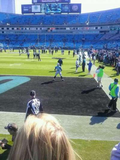 Bank of America Stadium section 139
