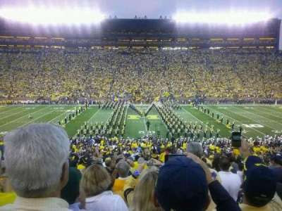 Michigan Stadium section 23