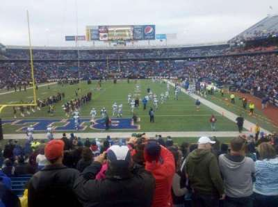 New Era Field, section: 121, row: 24, seat: 13