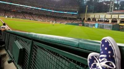 Minute Maid Park section 134