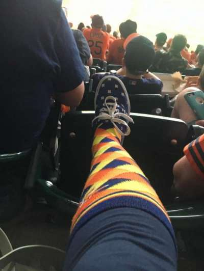 Minute Maid Park, section: 428, row: 10