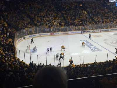Bridgestone Arena, section: 213, row: E, seat: 15