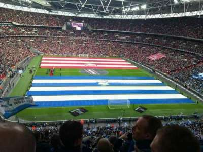 Wembley Stadium section 541