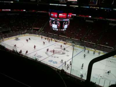 PNC Arena, section: 302, row: C, seat: 2