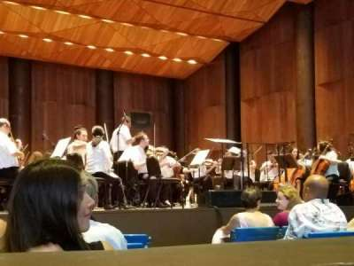 Mann Center for the Arts, section: Orchestra Left, row: B, seat: 7