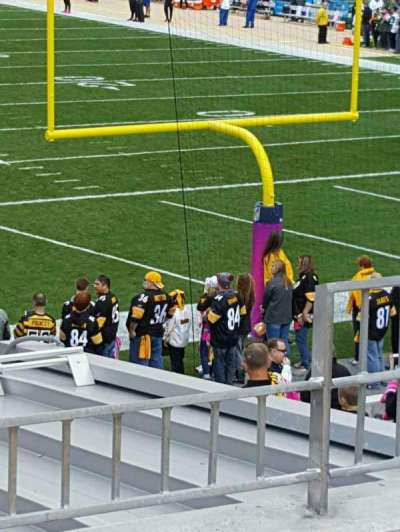 Heinz Field, section: 146, row: D, seat: 5
