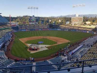 Dodger Stadium, section: 4RS, row: D, seat: 9