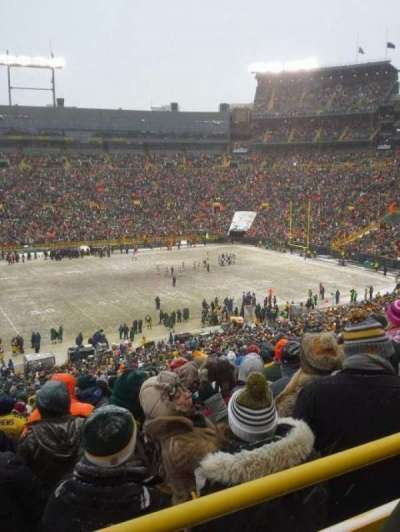 Lambeau Field section 324