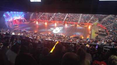 Philips Arena, section: 210, row: M, seat: 5