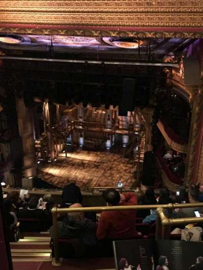 PrivateBank Theatre, section: Balcony R, row: K, seat: 2
