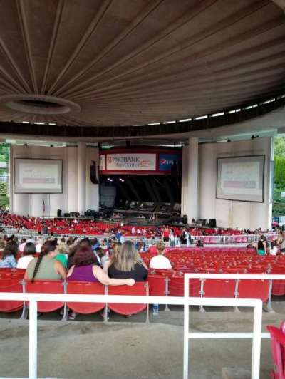 PNC Bank Arts Center, section: 402, row: H, seat: 118