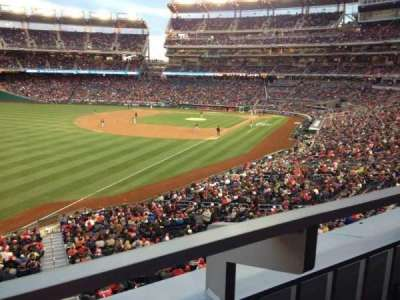 Nationals Park, section: 202, row: A, seat: 17