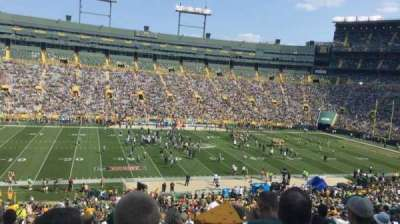 Lambeau Field, section: 116, row: 52, seat: 14-15