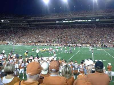 Texas Memorial Stadium, section: 4, row: 5