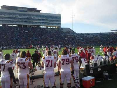 University of Kansas Memorial Stadium, section: 22, row: 1