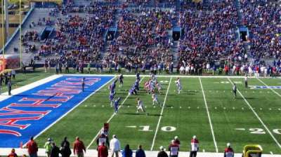 University of Kansas Memorial Stadium, section: 23, row: 28, seat: 28