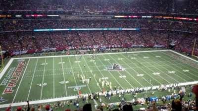 Georgia Dome, section: 350, row: 11, seat: 14