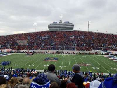 Liberty Bowl Memorial Stadium, section: 119, row: 50, seat: 27