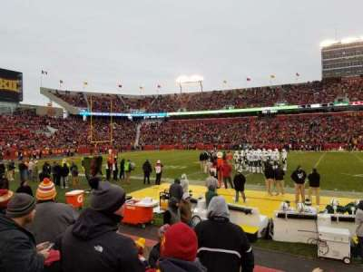 Jack Trice Stadium, section: 32, row: 6, seat: 13