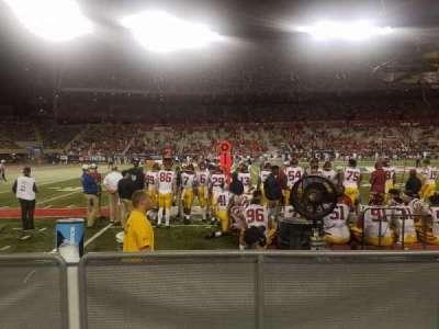 Arizona Stadium, section: 22, row: 1