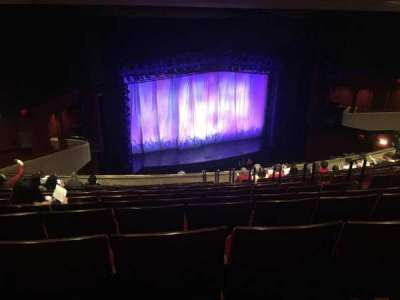 Marquis Theatre, section: Mezzanine, row: M, seat: 1