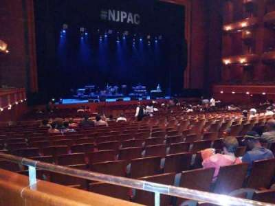 New Jersey Performing Arts Center, section: Grand Tier Box L, row: A, seat: 19