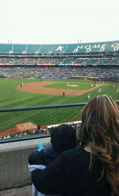 Oakland Alameda Coliseum, section: 229, row: 2, seat: 21