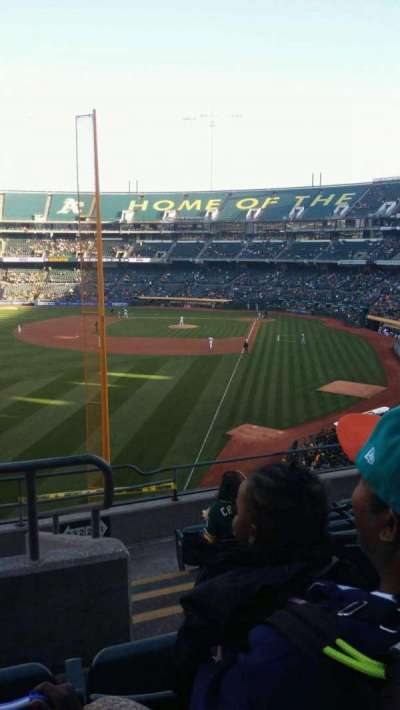 Oakland Alameda Coliseum, section: 232, row: 8, seat: 2