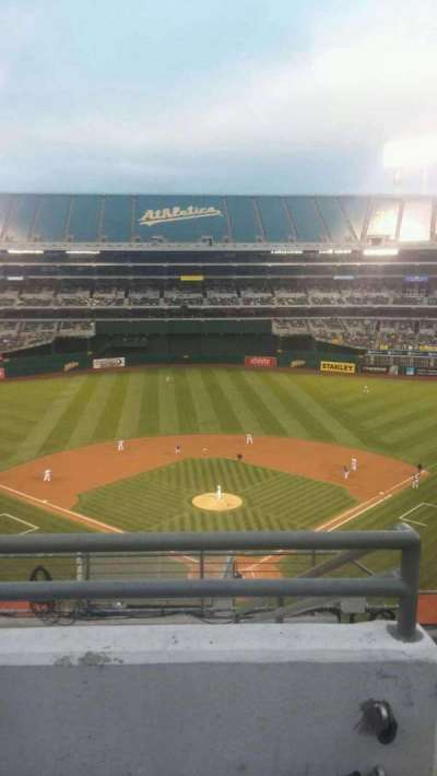 Oakland Alameda Coliseum, section: 318, row: 8, seat: 2