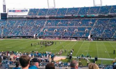 EverBank Field section 207