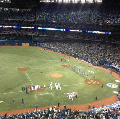 Rogers Centre, section: 531R, row: 1, seat: 1