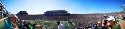 Notre Dame Stadium, section: 6, row: 58, seat: 38