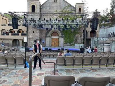 Mountain Winery, section: 3, row: C, seat: 14