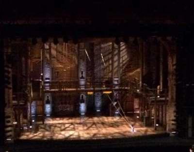 San Diego Civic Theatre section MEZZL1