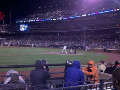 Citi Field, section: 121, row: 3, seat: 10