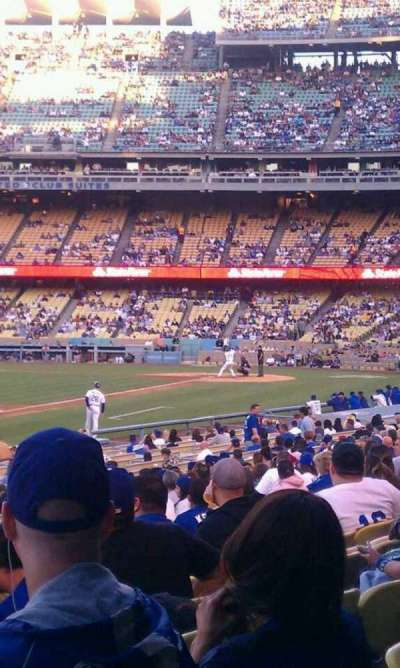 Dodger Stadium section 43fd