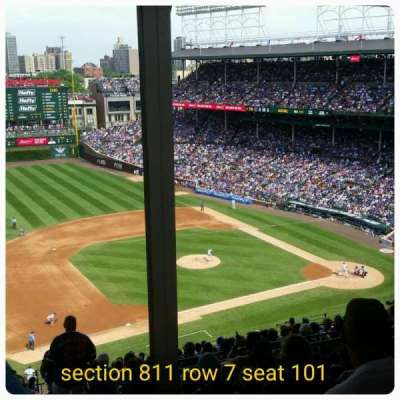 Wrigley Field, section: 511, row: 7, seat: 101