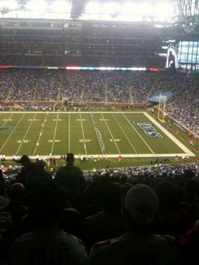 Ford Field section 333