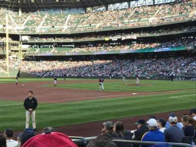 Safeco Field, section: 142, row: 9, seat: 7