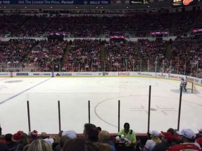 Joe Louis Arena, section: 120, row: 9, seat: 1