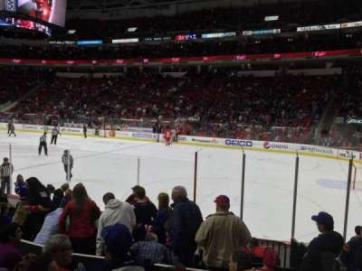 PNC Arena section 116