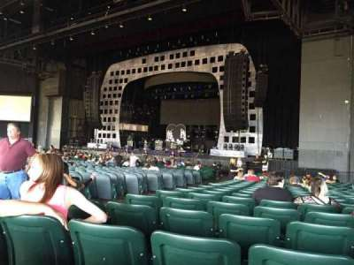 BB&T Pavilion, section: 100, row: Y, seat: 8